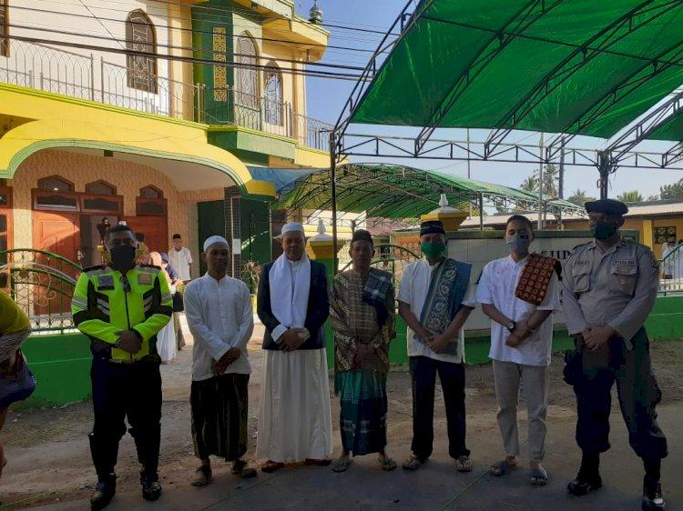 Perayaan Idul Adha 2020, Polres Sumba Timur dan Jajaran Lakukan Pengamanan Sholat Berjamaah