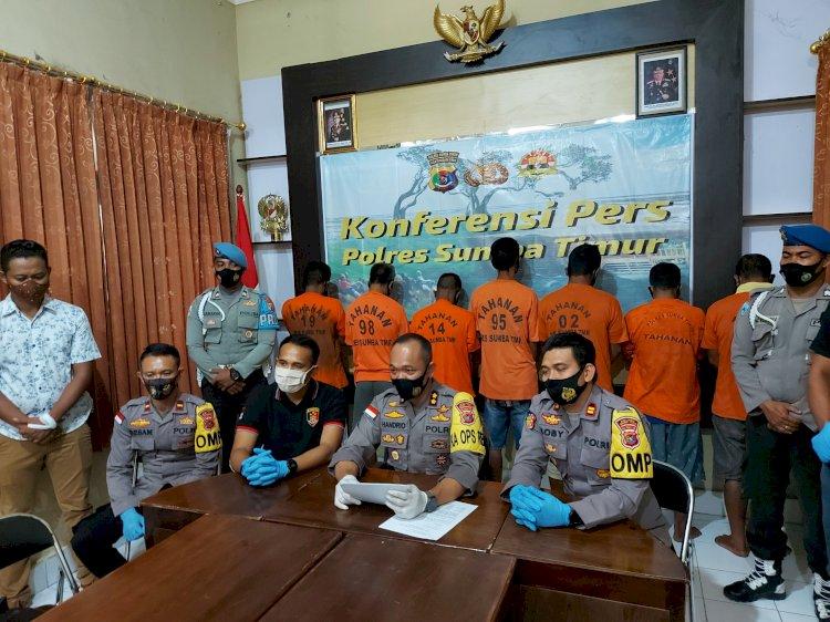 Gerombolan Pencuri Ternak Berhasil Diamankan Polres Sumba Timur