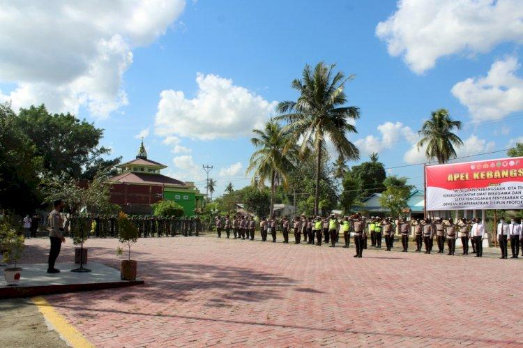 Pimpin Apel Kebangsaan, Kapolres Sumba Timur Ungkap Upaya TNI Polri dan Pemkab Dalam Penanganan Covid 19