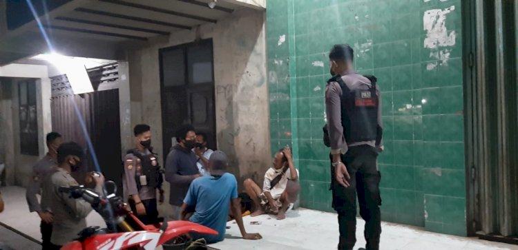 Operasi Premanisme, Polres Sumba Timur Amankan Pemuda Mabuk Miras