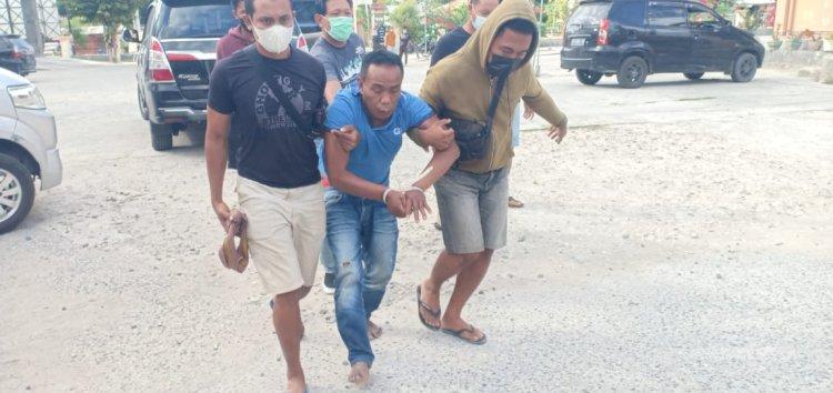 Sempat Melawan dan Gigit Tangan Petugas, Aktor Utama Pencurian Uang Nasabah Berhasil Diamankan Tim Gabungan