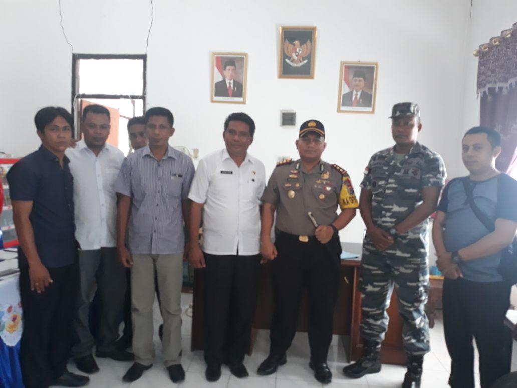 Polres Sumba Timur bersama Pos AL Waingapu dan DKP Sumba Timur Adakan FGD Bahas Ilegal Fishing Di Perairan Sumba Timur