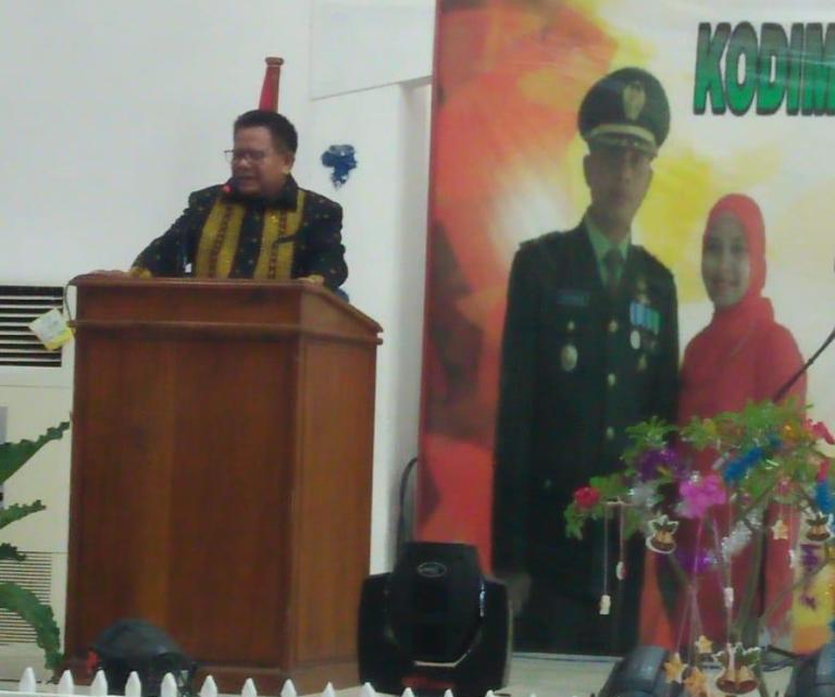Natal Sinergi TNI Polri, Bupati Sumba Timur : Perbedaan Bukan Itu Suatu Batu Sandungan Untuk Merajut Kebersamaan