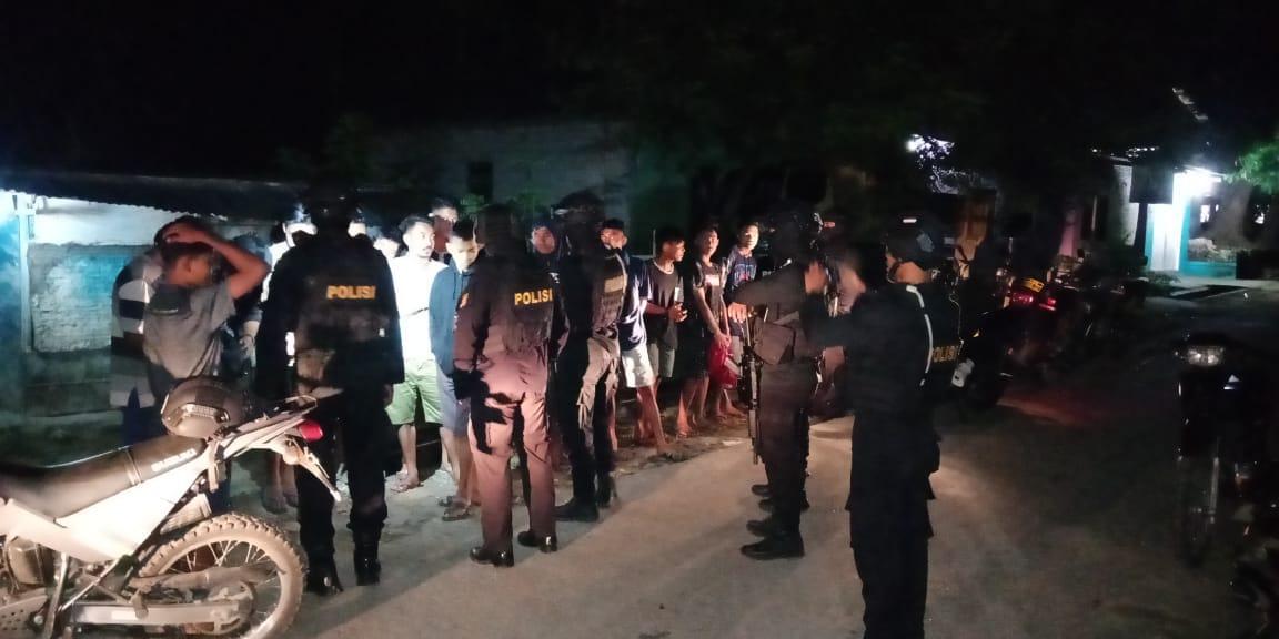 Antisipasi Kenakalan Remaja Pada Malam Hari, Tim Rajawali Gencar Patroli