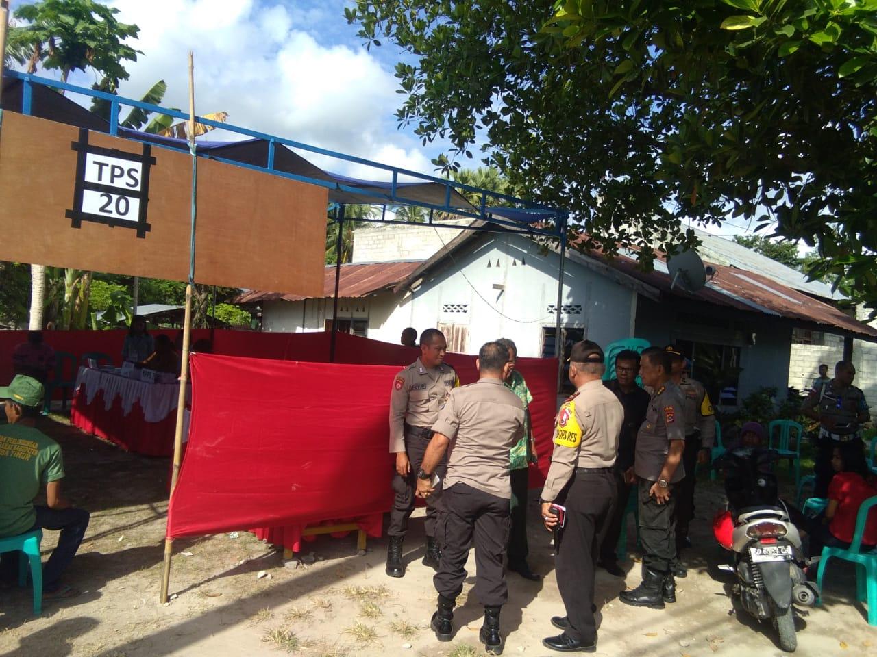 Polres Sumba Timur Perketat Pengamanan di 5 TPS Yang Melaksanakan PSU