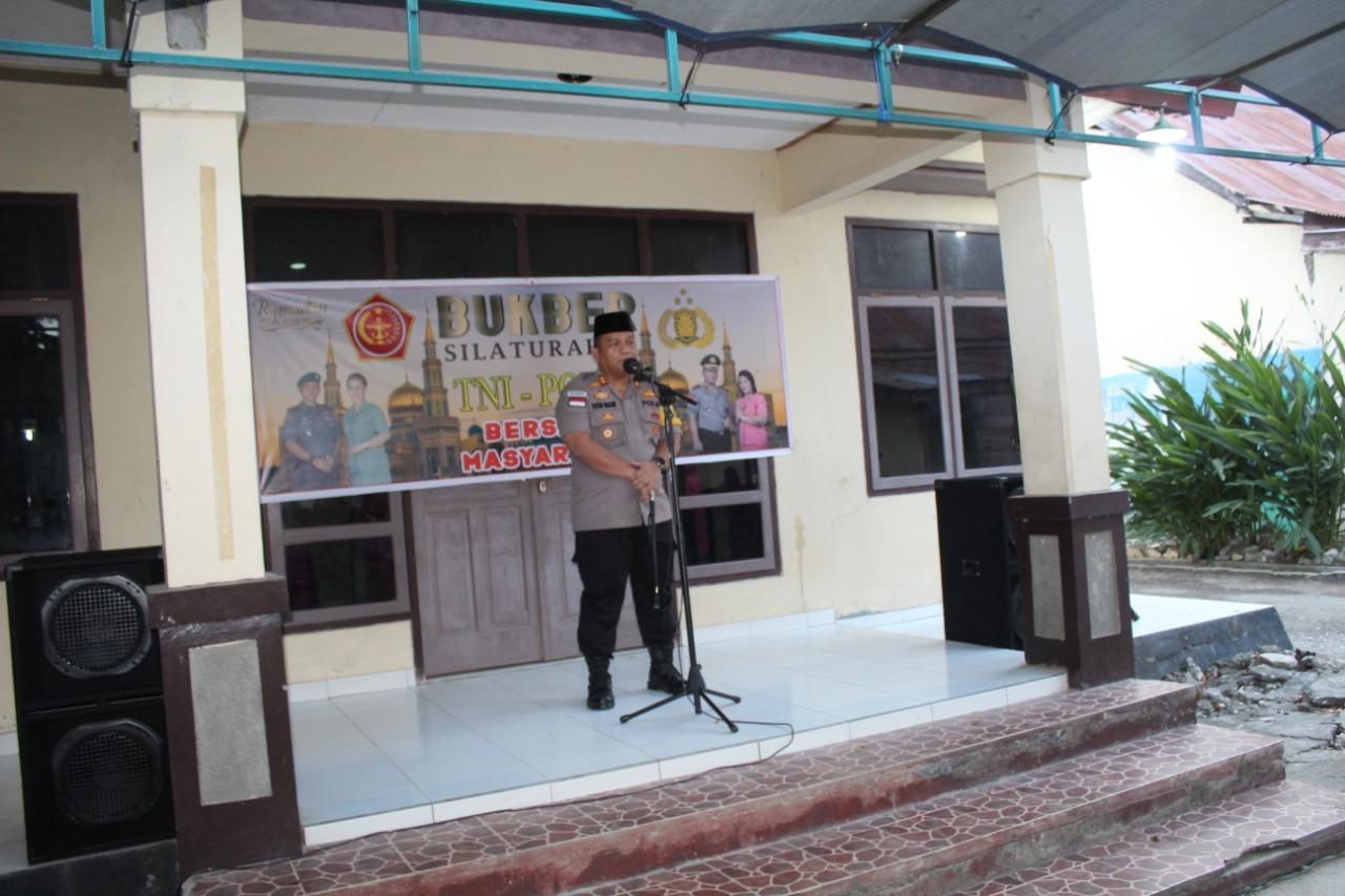 Bukber Silahturahmi TNI Polri Bersama Masyarakat