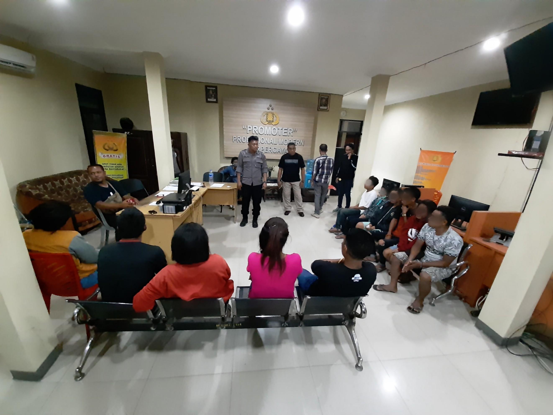 6 Pasang Muda Mudi Terjaring Tim Ops Pekat Polres Sumba Timur