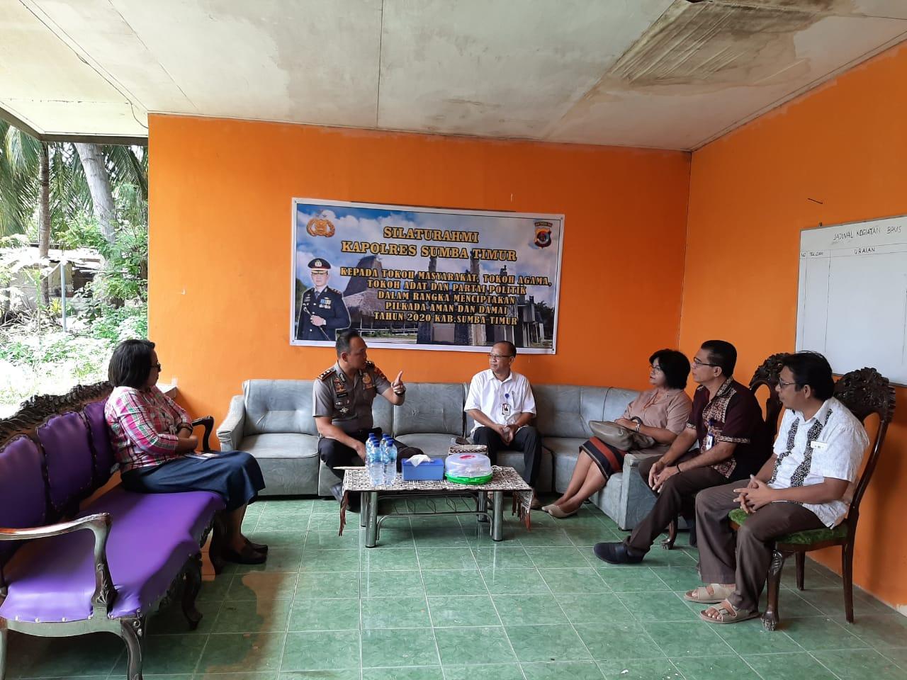 Ketum Sinode GKS Imbau Jemaat Sukseskan Pesta Demokrasi di Kabupaten Sumba Timur